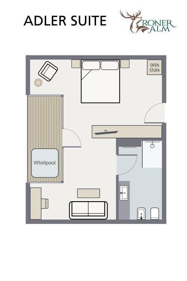 Floor plan Adler Suite