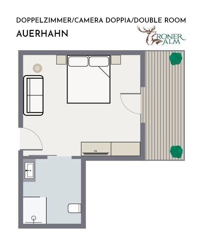 AUERHAHN Double room handicapped accessible