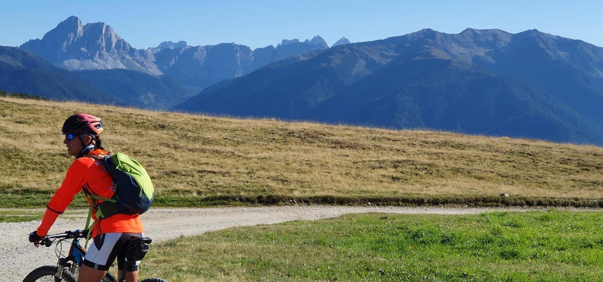 Radurlaub in Südtirol - Rodenecker Alm