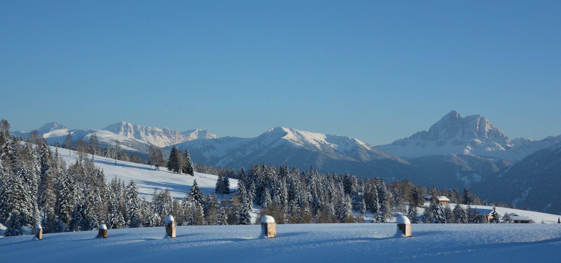 Winterurlaub auf der Alm – Wunderbarer Winter in Südtirol