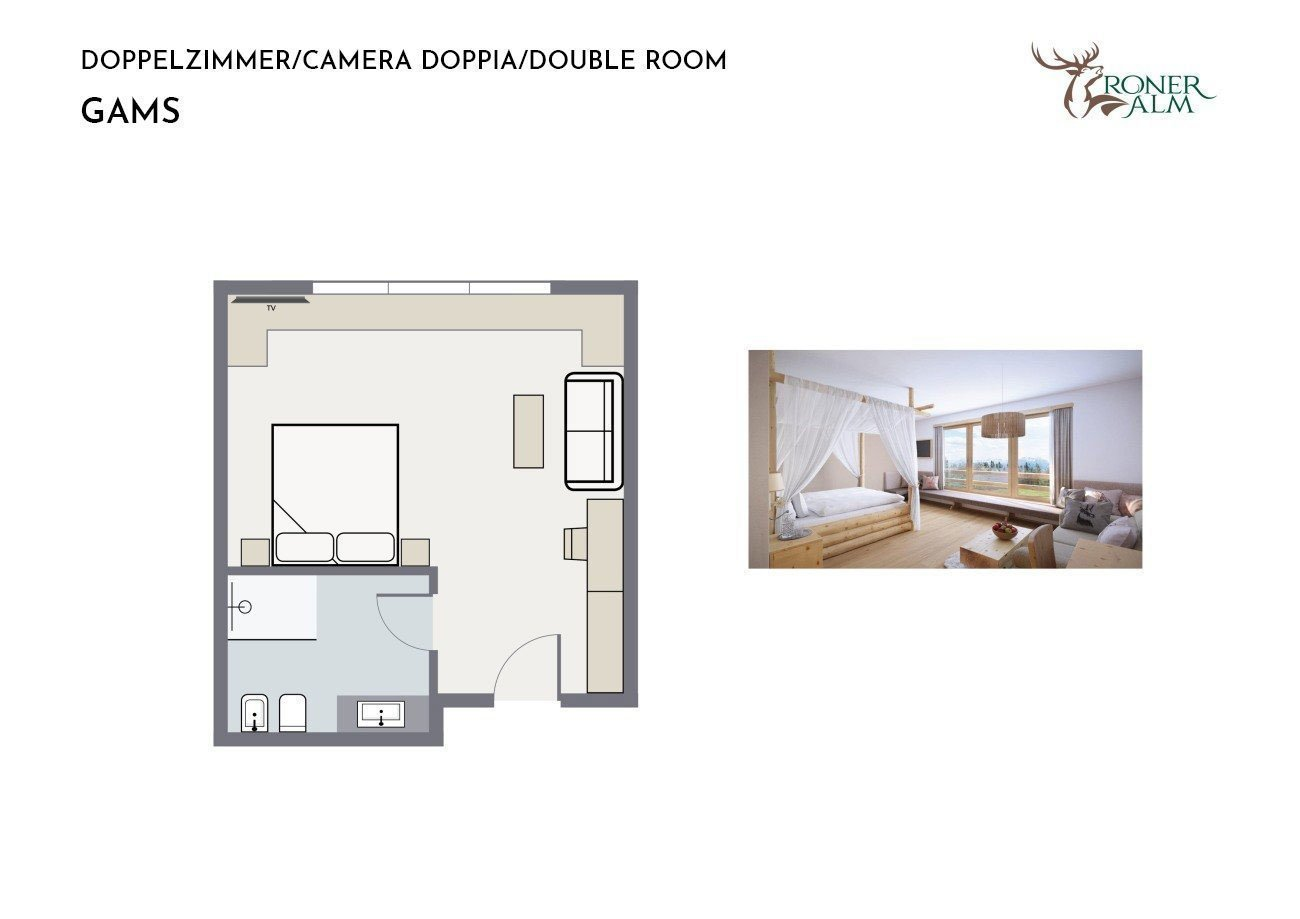 GAMS Double room