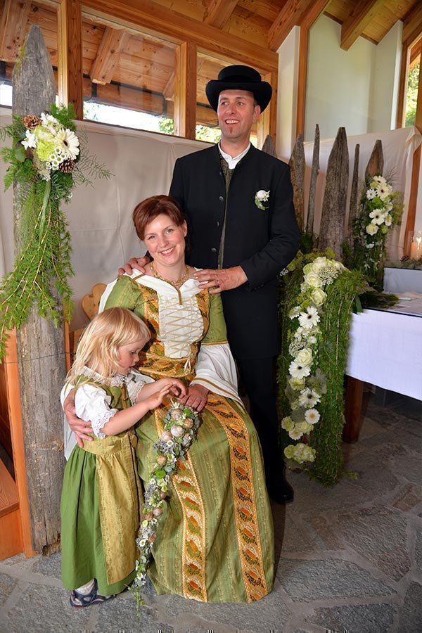 Getting married on Roner Alm