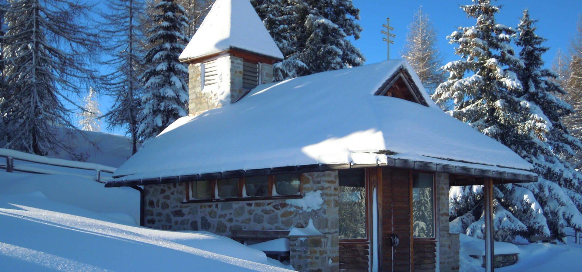 Pianer Kreuz Kapelle – Die kleine Bergkapelle auf der Rodenecker Alm