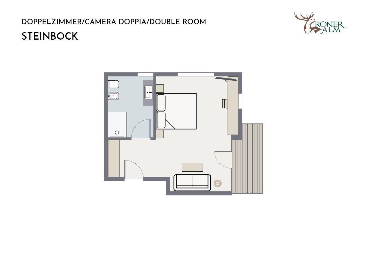 Double room STEINBOCK