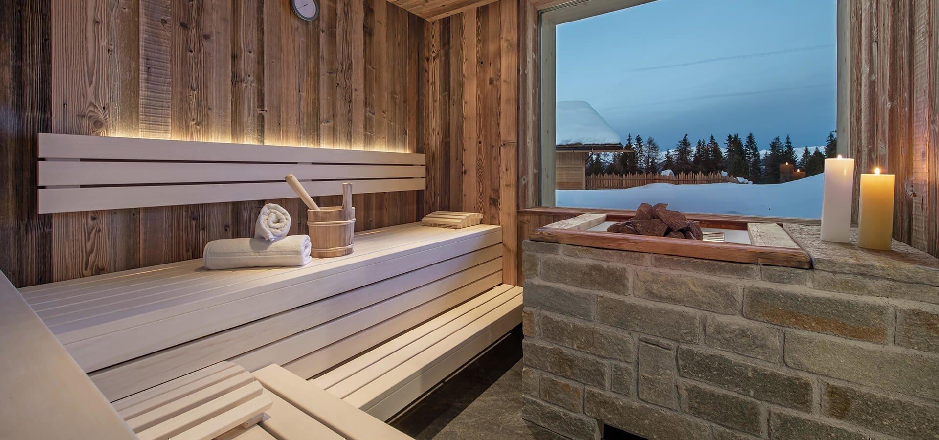 Alm-Wellness auf der Roner Alm – Alm-Sauna und mehr