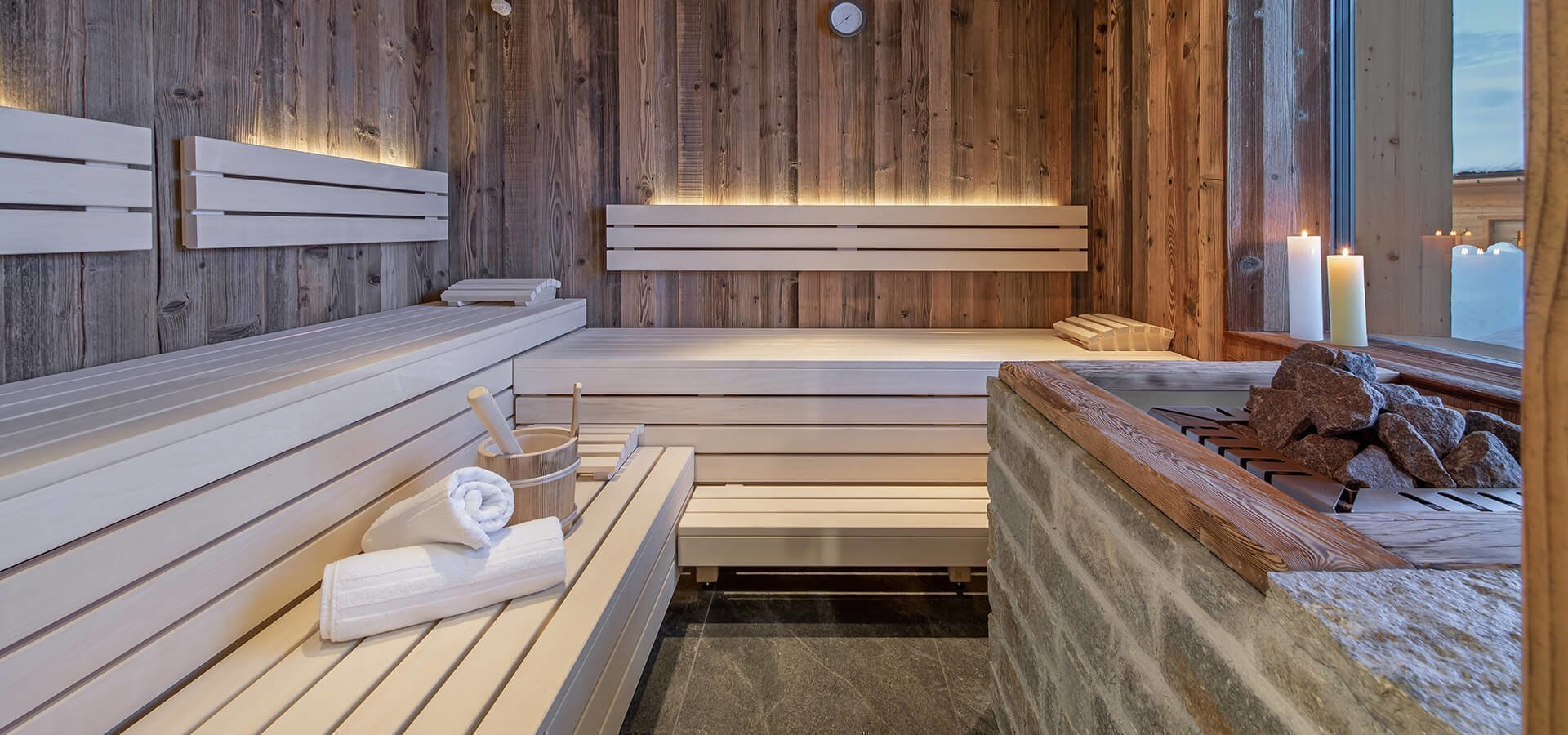 Sauna auf de Roner Alm